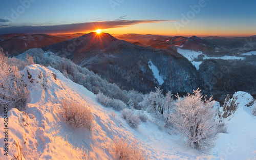 Fototapeten,natur,berg,sonnenuntergänge,alps