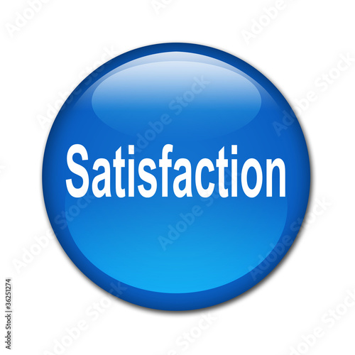 Boton brillante texto Satisfaction
