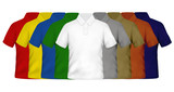 Fototapety Color Polo Shirts