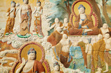 Buddhism picture poster