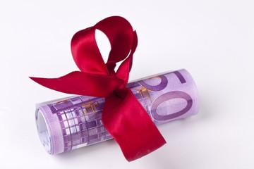 Geldgeschenk 500 Euro-Scheine