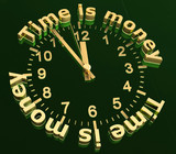 Uhr  time is money