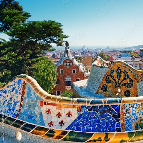 Park Guell, Barcelona - Hiszpania