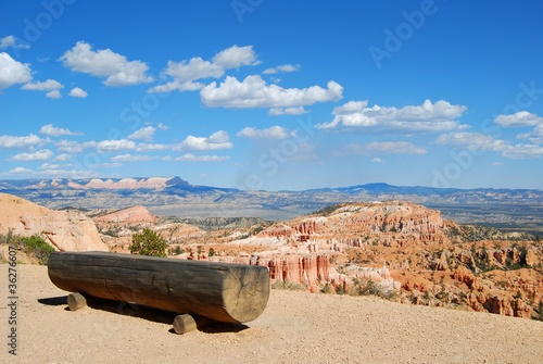 bryce canyon - panchina