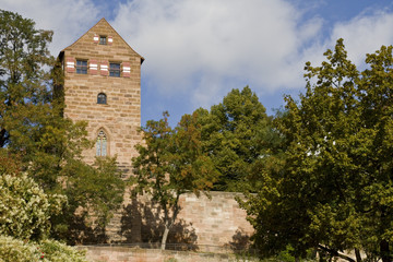 Tower of Imperial Castle Nuremberg