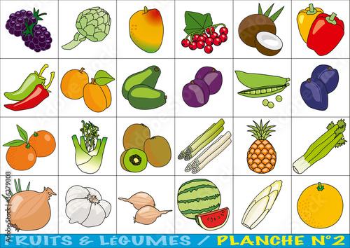Fruits_et_Legumes_Planche_2