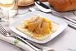 Maltagliati con queso Mascarpone
