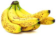 Bananas With Brown Spots Isola...