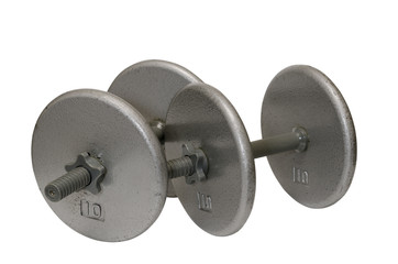Two Dumbbells Isolated
