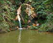 waterfall at Sao Miguel Island
