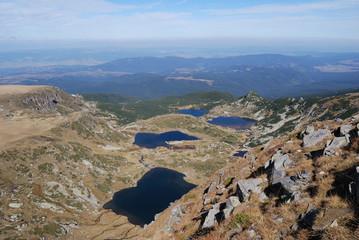 Sette laghi di Rila Montagna - Gemelli,trifoglio,pesce,inferiore