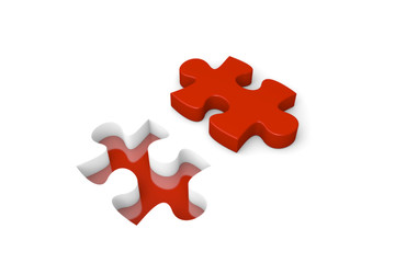 Puzzle 4 red