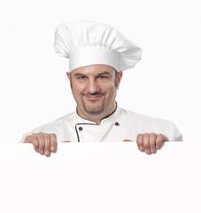 Retrato de un chef.