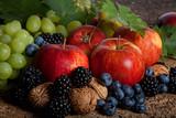 Fototapeta czerwony - jagody - Owoc