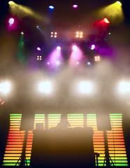 DJ at a nightclub on the scene