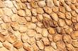 Sandsteinmauer - Runde Steine