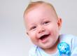 Cute Baby Boy Laughing