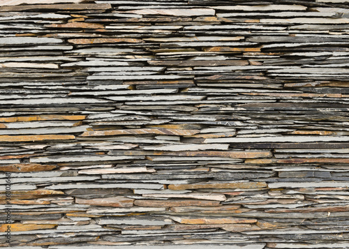 slate stone wall surface