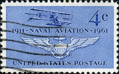 1911- Naval Aviation - 1961. US Postage.