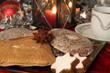 Kaffe und Lebkuchen zum Fest