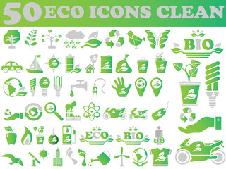 50 ICON PC CLEAN ECOLOGY