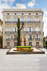 Plaza de Manises, Valencia, Spanien