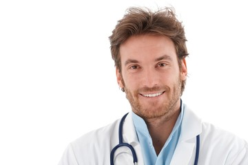 Portrait of confident smiling doctor
