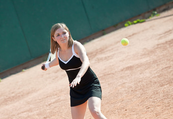 Tennis girl.