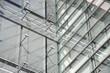 Leinwanddruck Bild - Geschäftsgebäude in Luxemburg