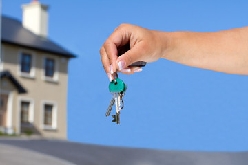 Keys to your new house