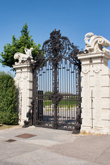 Gate of Belvedere Palace, Vienna