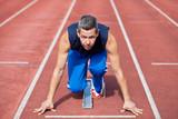 Fototapeta sport - sportowca - Mężczyzna