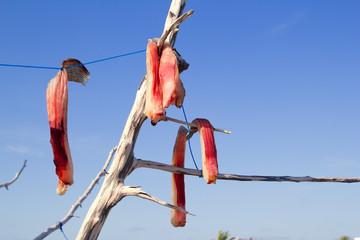 air-dried salted fish Mediterranean style