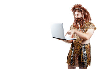 Caveman with a laptop (8).