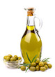 obraz - olives and oil clo...