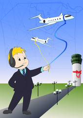 Airline controller