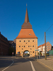 Das Steintor in Rostock.