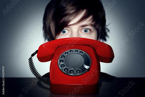 Leinwanddruck Bild Phone