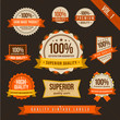 Vintage style of label badge sticker collection