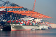 Port cranes and ships - 36320033