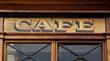 Altes Kaffeehaus - Nostalgie aus Frankreich