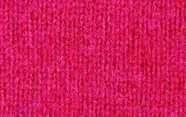 Knit woolen pink texture