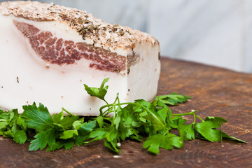 Famous Italian Lard from Colonnata