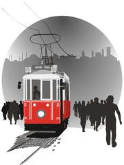 Istiklal old tram
