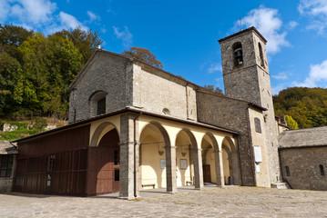 Toscana, Santuario della Verna, basilica Maggiore 2