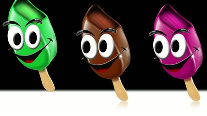 Summer ice creams video