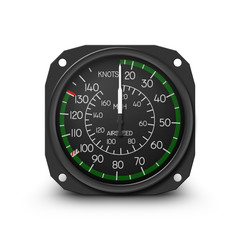 Helicopter air speed indicator (R44)