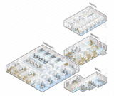 Hospital Isometric Levels