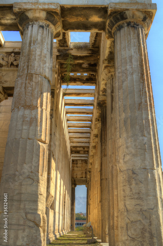 Temple of Hephaestus,Athens,Greece