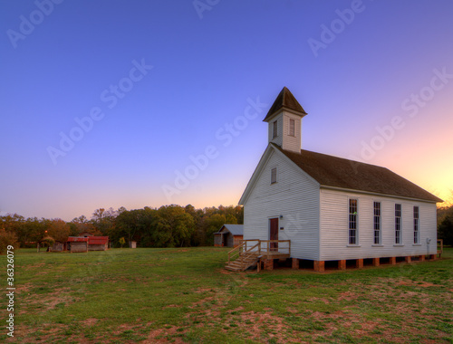 Old Rural Chapel